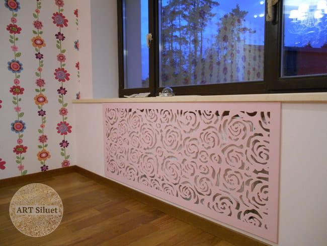 Декоративные экраны для радиаторов отопления фото